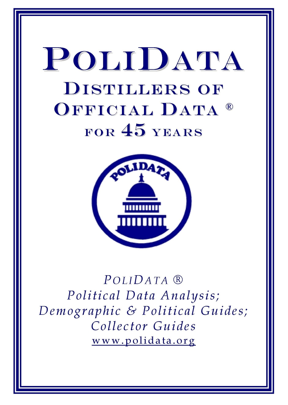 Distillers of Official Data ®.